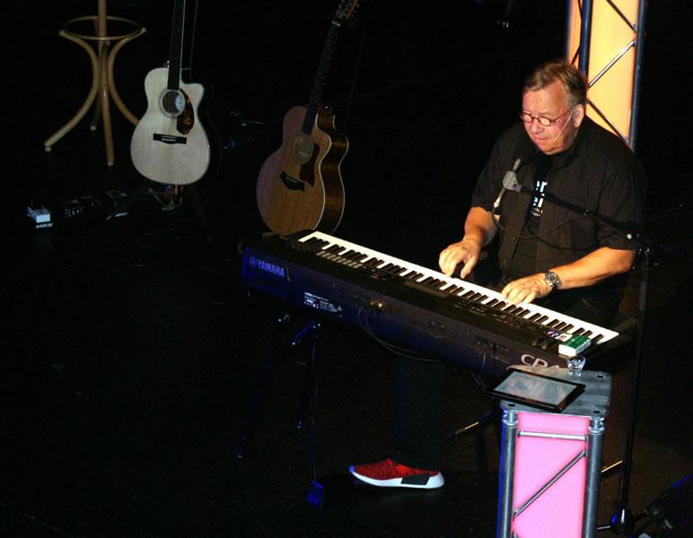 Bernd Stelter bei seinem Auftritt 2017 im Festsaal der Talwiesenhallen.