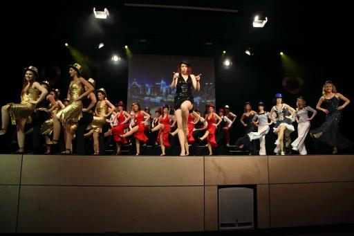 Tanzshow der Rose Angels mit Stargast aus Hamburg